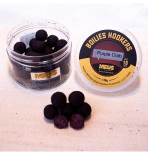 Meus JJ-Fishing Edition Hookbaits 18mm Purple Crab, Köder Meus Hookbaits