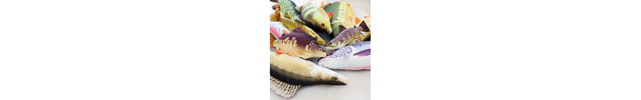 Plüschfische - JJ-Fishing - Dein Tackle aus Österreich